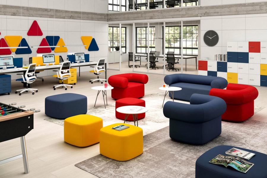 Choisir la couleur de son mobilier de bureau #1