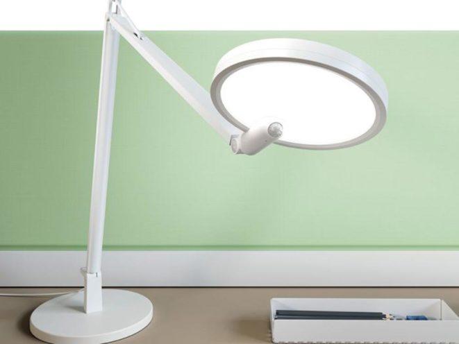 Lampe Loola avec détecteur de présence à retrouver dans les aménagement de Global Concept