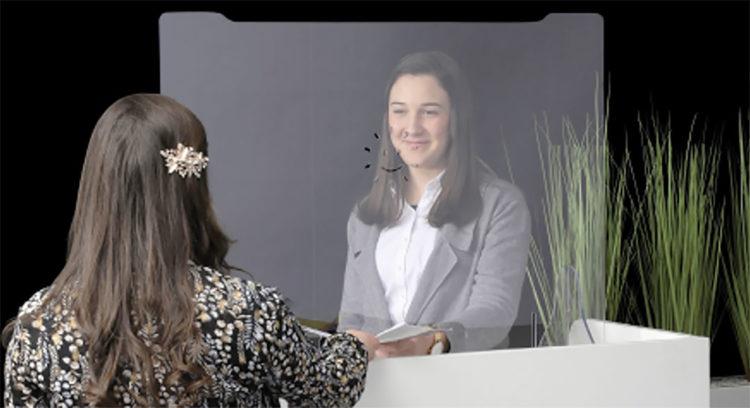 Hygiaphone avec trappe en plexiglas proposé par Global Concept