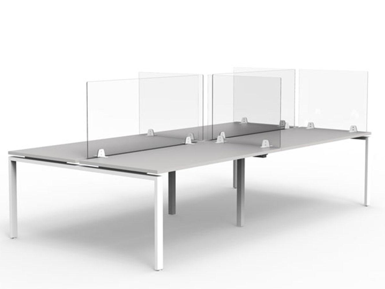 Panneaux de séparation pour bureaux en open space, dispositif global concept