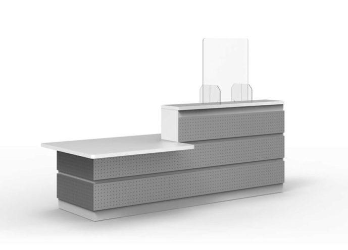 Hygiaphone 2 en plexiglas proposé par Global Concept