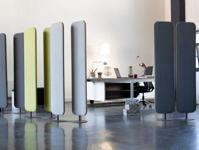 Solution acoustique qui délimite aussi les espaces par Global Concept Agencement