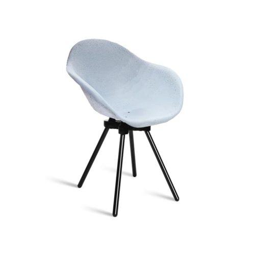 Chaise Graven, mobilier upcycling, de l'entreprise Maxime Paris