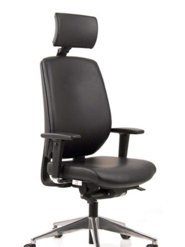 Siège ergonomique avec Têtière réglable en hauteur et en inclinaison par Global Concept