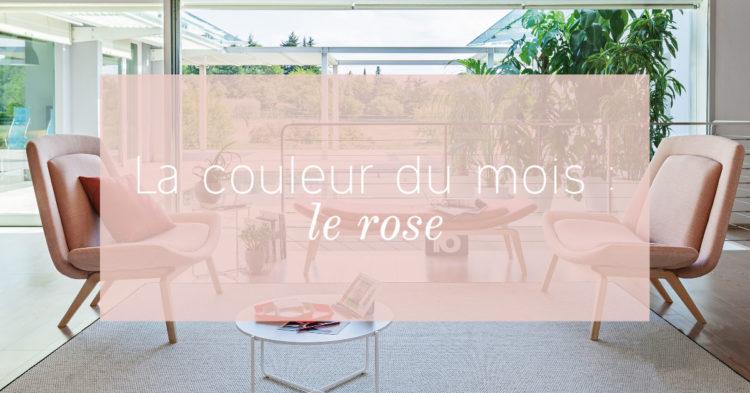 La couleur du mois - Le rose