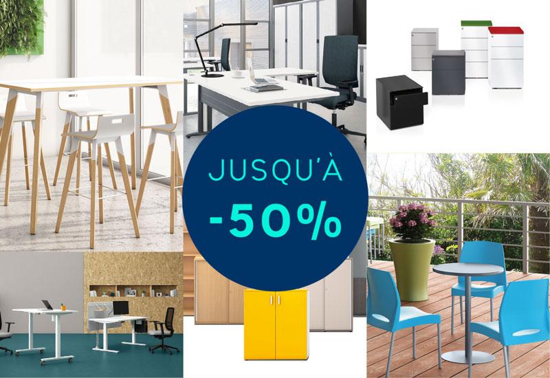 L'offre de fin d'année 30% de réduction sur le mobilier professionnel