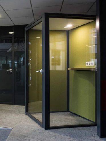 Les cabines acoustiques pour avoir des espaces isolés par Global Concept