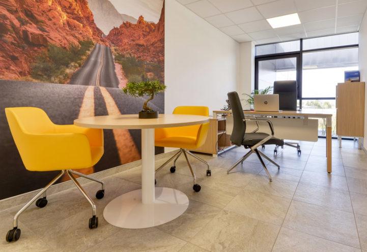 À la une - Aménagement des bureaux des filiales du groupe Sapiens - MP Geotecx - BAR - Drôme Lavage Poids Lourds