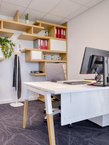 Aménagement de bureaux au siège du Groupe Sapiens par Global Concept