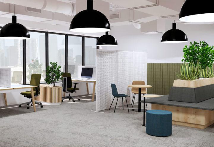 Les séparations d'espaces pour vos bureaux