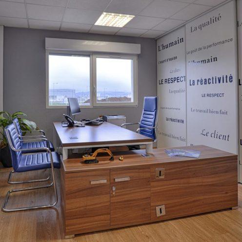 Choisir le bureau de direction pour vos bureaux individuels par Global Concept