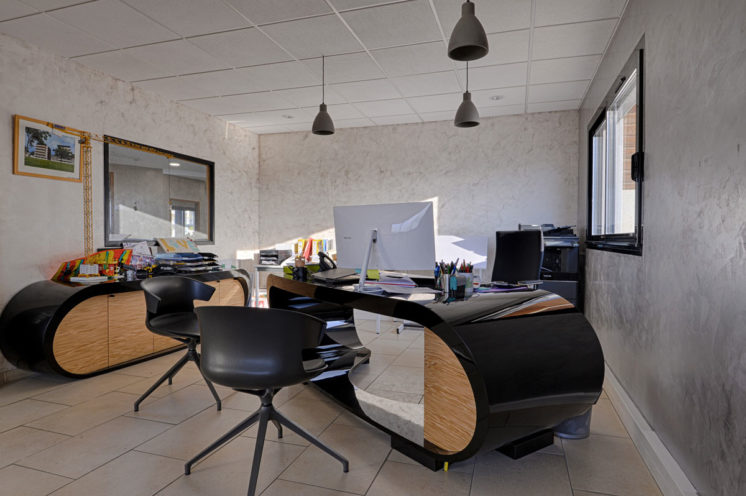 Bureau de direction pour du mobilier professionnel par Global Concept