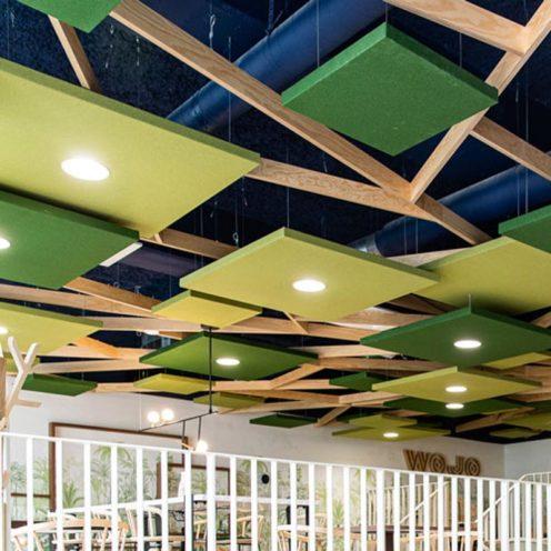Les luminaires acoustiques pour vos espaces professionnel par Global Concept